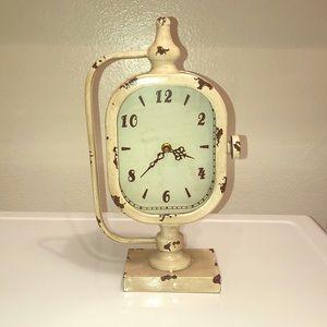 Decorative clock.